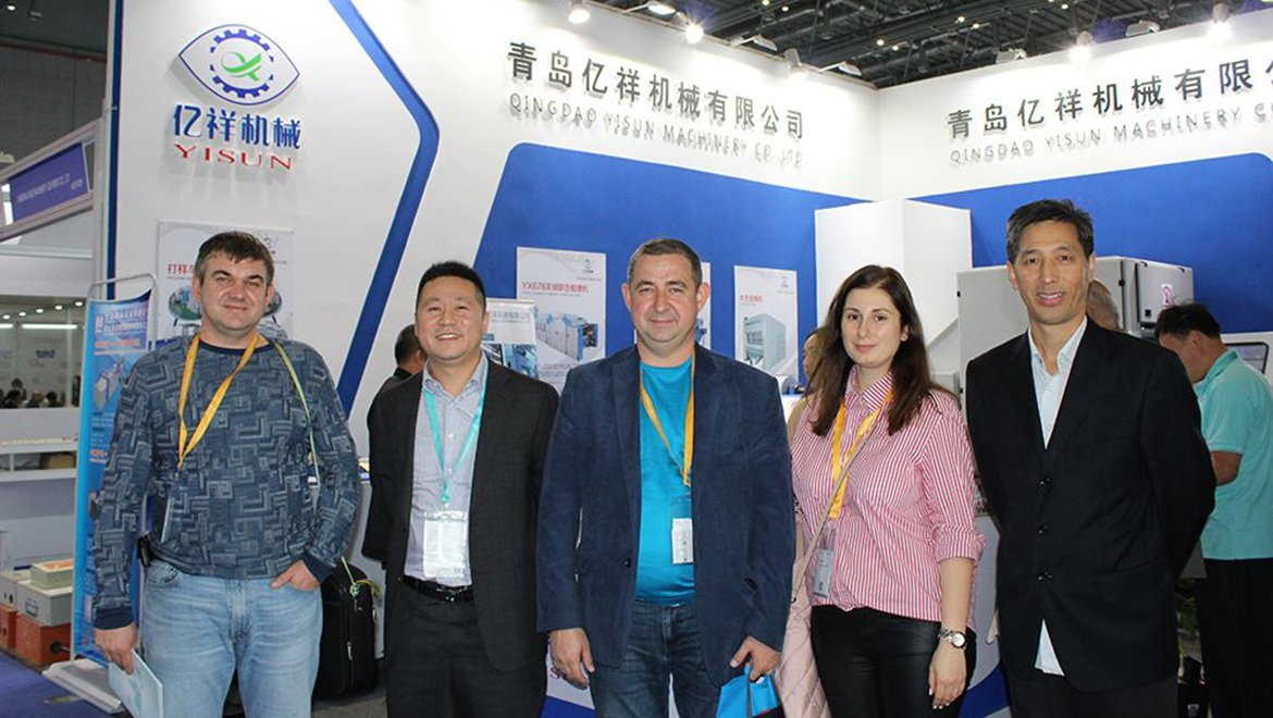 Shanghai textile machinery exhibition in 2018 - the Russian order is signed by the customer
